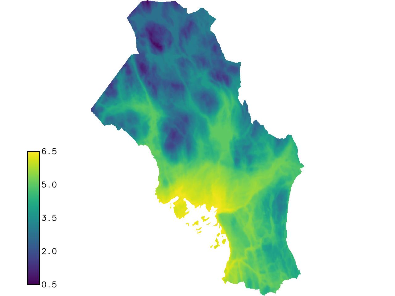 Unit 27 - Regression analysis — GRASS GIS IRSAE Winter